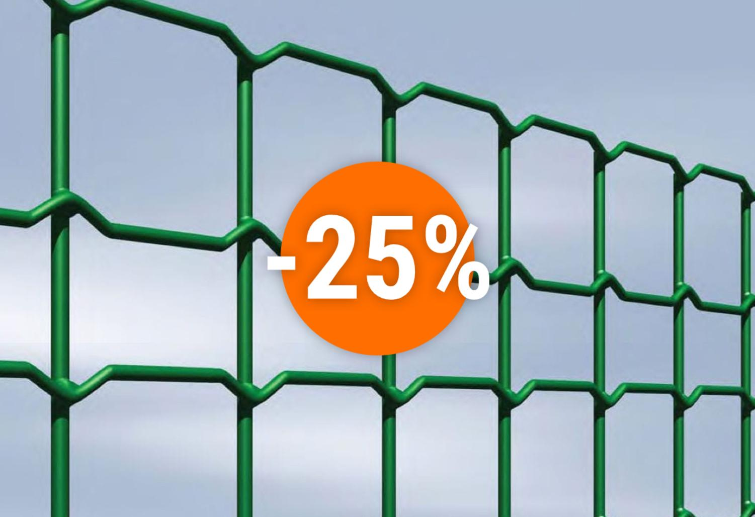 Special offer on the Decoplax Evoluzione mesh