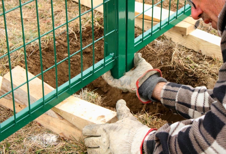 Fermo Per Cancello A Due Ante.Come Posare Un Cancello A 2 Ante Vendita Online Su Fenceshop Eu