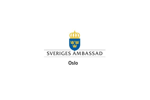 Sveriges ambassade logo