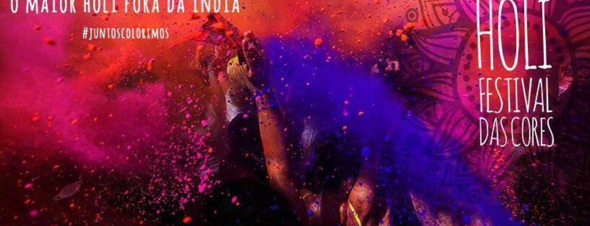 Holi Festival das Cores