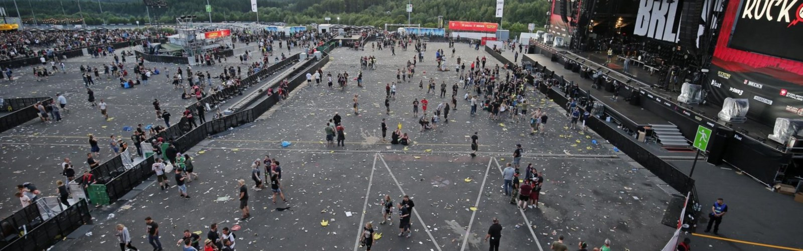 Rock am Ring festival in Germany evacuated due to 'terror threat'