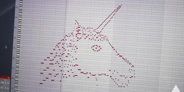 The unicorn drawing song that has gone viral