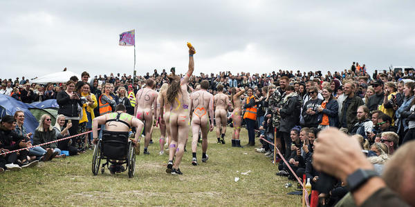 Naked Run 2017 at Roskilde Festival