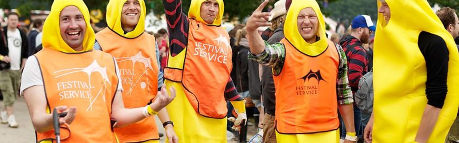 How did Roskilde festival fans survived the eight day journey?