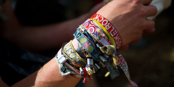 Are you still using your festival wristbands? Then you must read this.