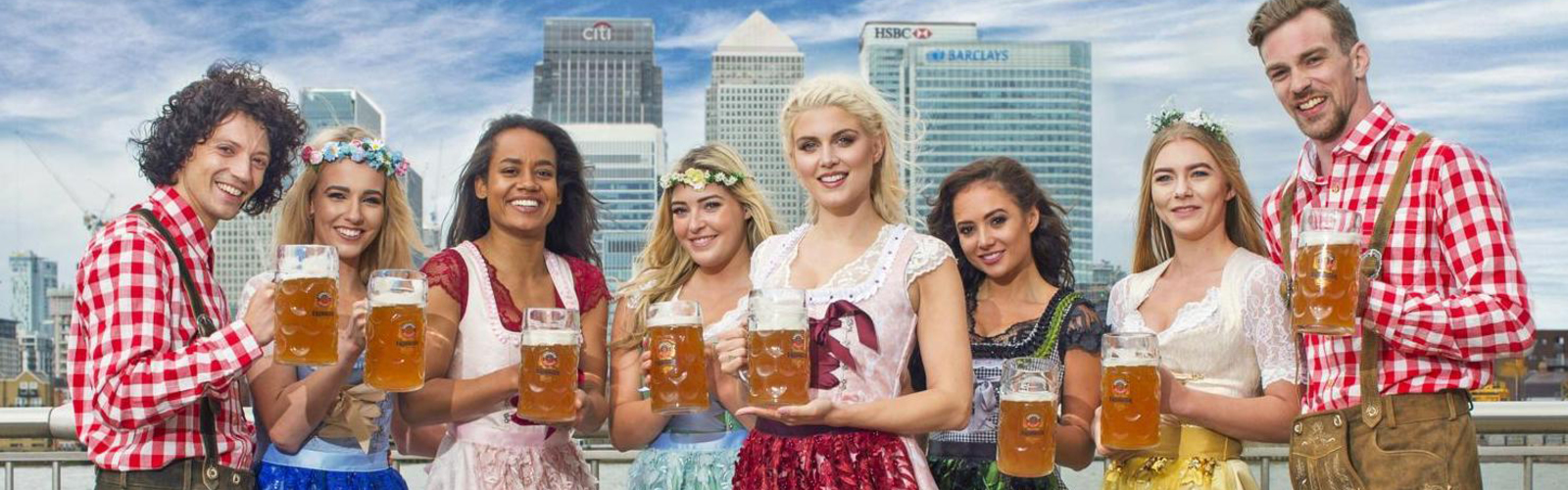 Do you think Oktoberfest is about mature women bosoms?
