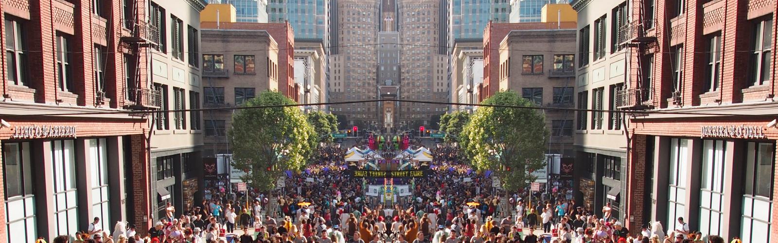 How Weird Street Fair: experience the fun, feel the music and be weird!