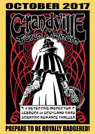 Reklamepostkort for Grandville Force Majeure