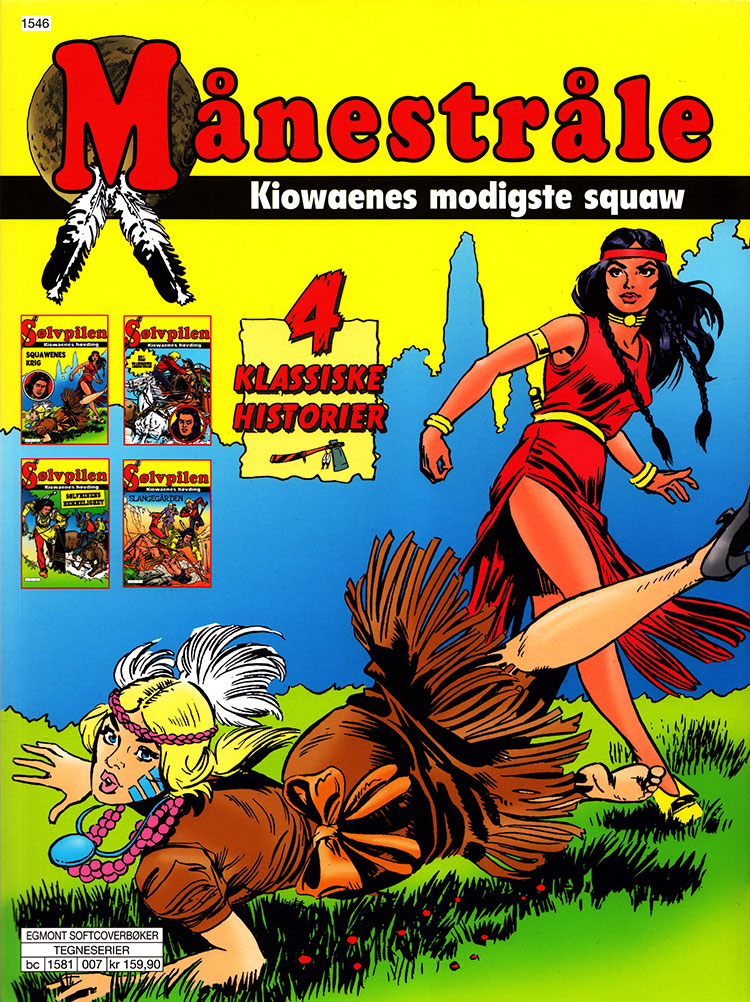 Månestråle - Kiowaenes modigste squaw
