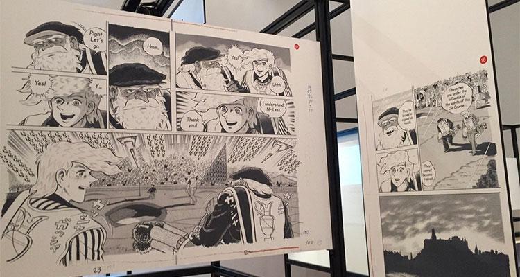 Sider fra Stay Fine, fra Manga Now - Three generations