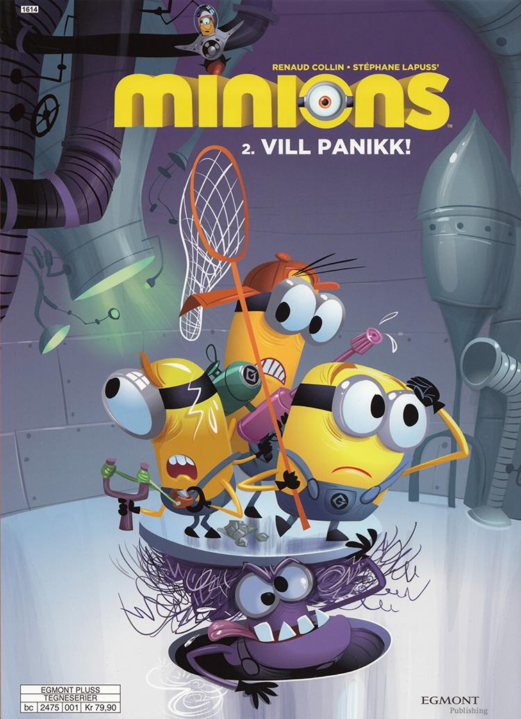 Minions - Vill panikk!