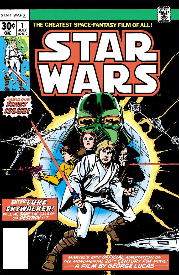 Marvels første Star Wars-utgivelse fra 1977