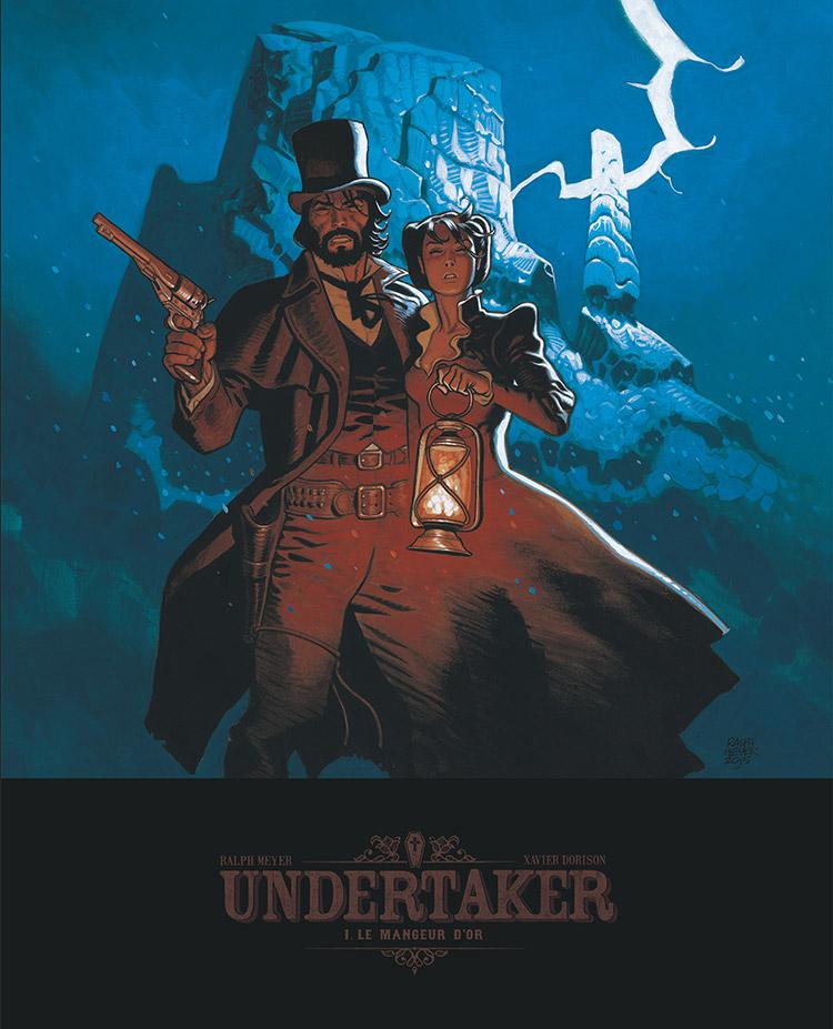 En av albumforsidene til Undertaker - Le Mangeur d'or