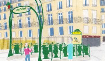 Apprenez à dessiner le Marais, arrondissement paris, paris arrondissement, arrondissements paris