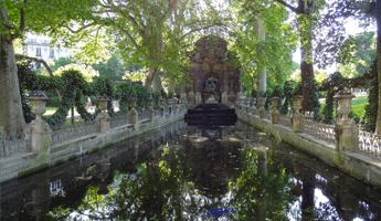 Fontaine Médicis, arrondissement paris, paris arrondissement, arrondissements paris