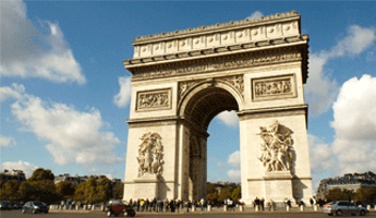 L'Arc de Triomphe, arrondissement paris, paris arrondissement, arrondissements paris