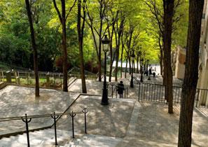 Balade autour du cinéma à Montmartre