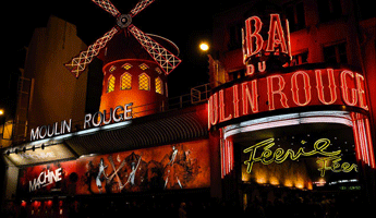 Le Moulin Rouge, arrondissement paris, paris arrondissement, arrondissements paris