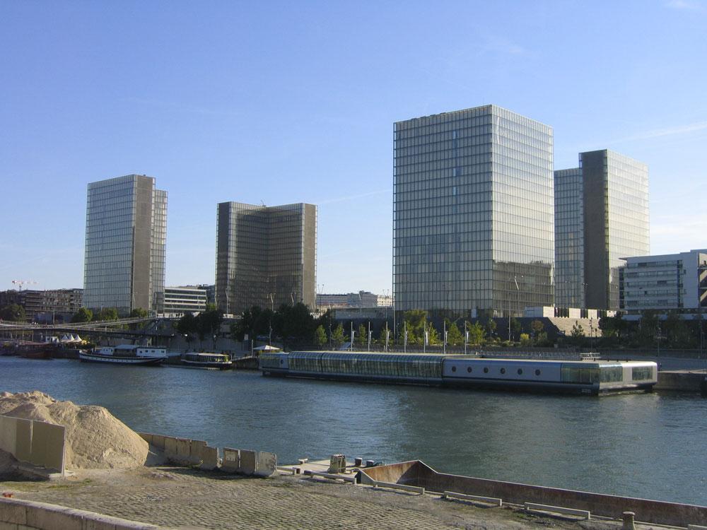 Le quartier de la BnF Mitterrand