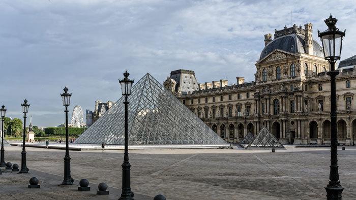 Pyramides du Louvre
