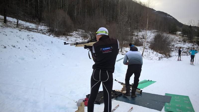 entrainement biathlon