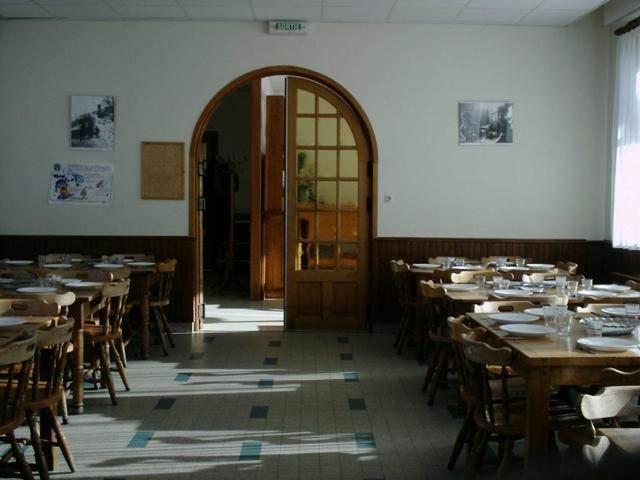 Salle à manger du centre à Autrans