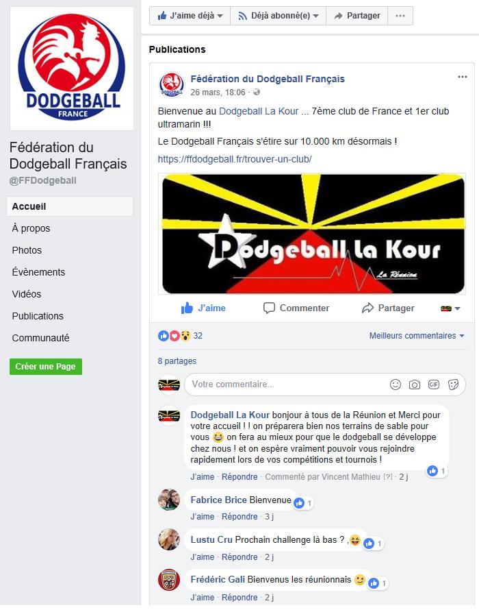 Affiliation fédération