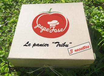 """Le Panier """"TRIBU"""" pour 4 personnes"""