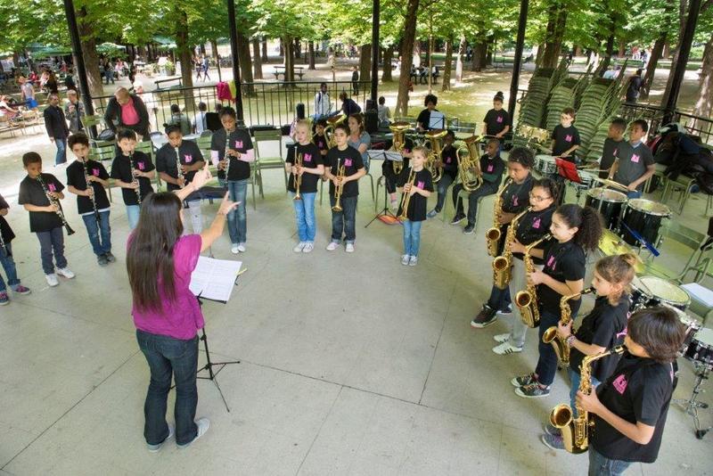 Classe orchestre au sénat