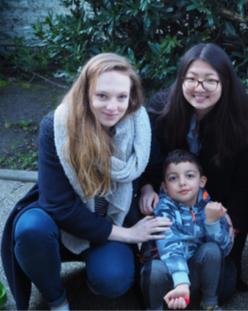 Romane, Mireille et Wassim