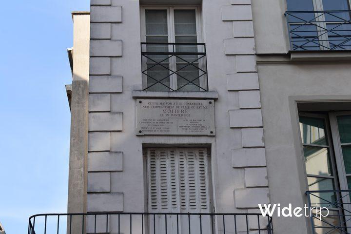 maison molière,molière,où est né molière,insolite,paris insolite,anecdote