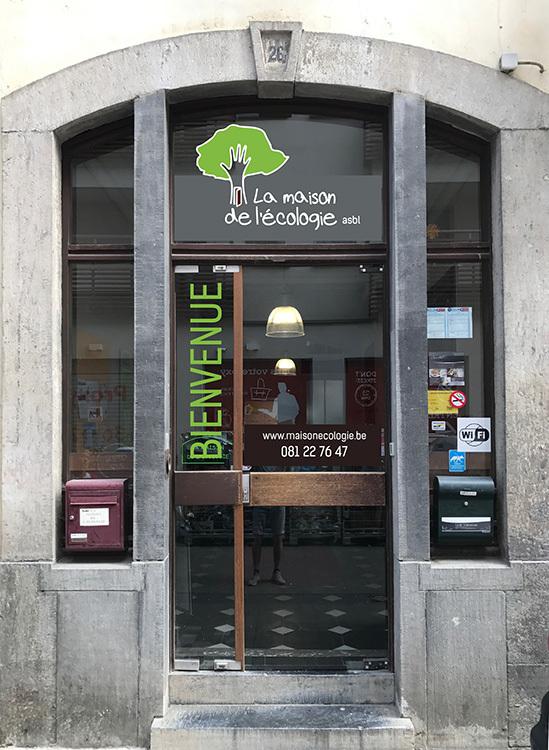 La Maison de l écologie Rue Basse-Marcelle 26 5000 Namur