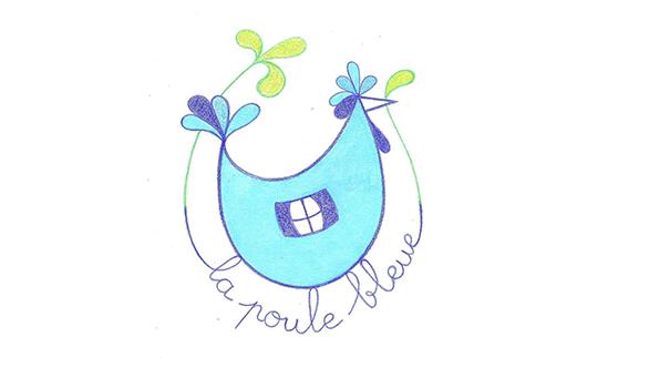 PouleBleue
