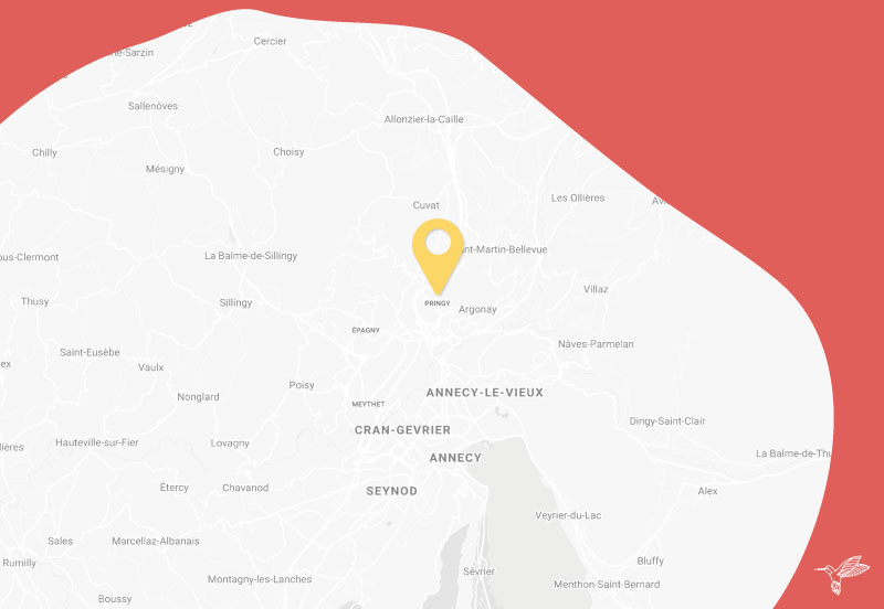 Localisation drive zero dechets pringy