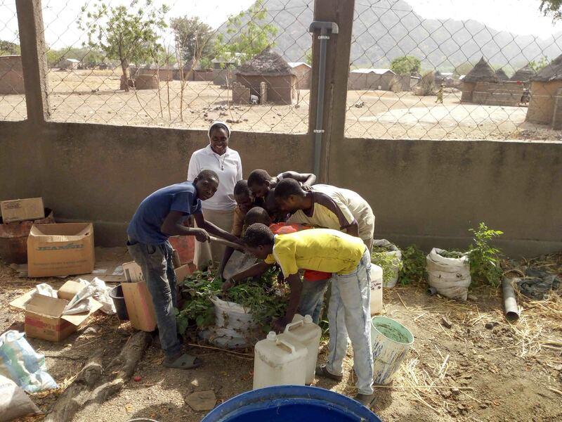 Les Filles de la Charité - agriculture de conservation - Cameroun