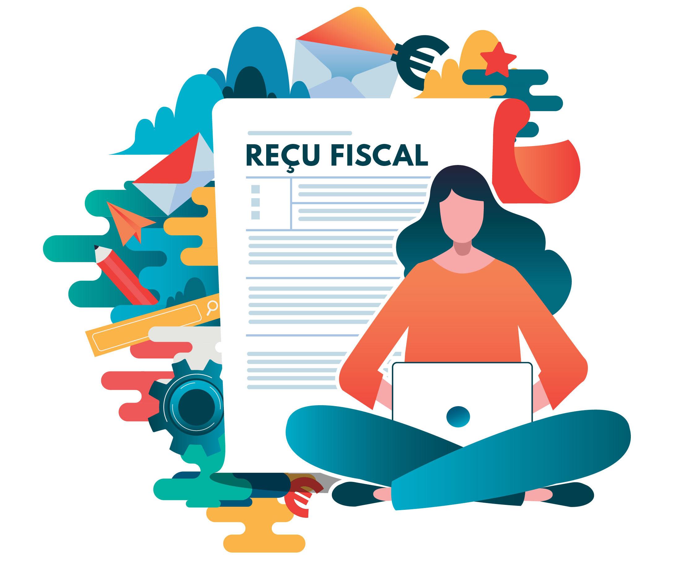 Recu fiscal 2