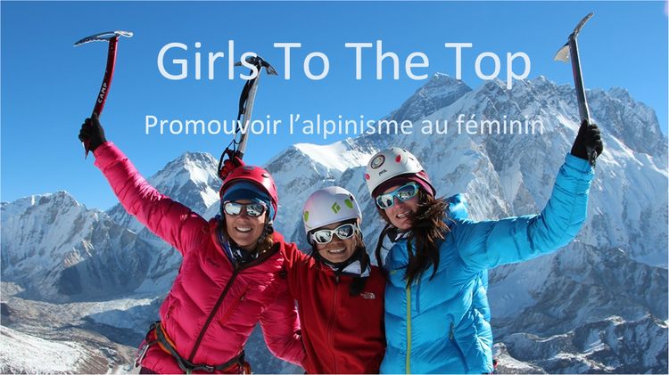 Girls To The Top : Promouvoir l'alpinisme au féminin