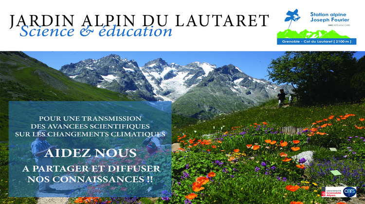 Le Jardin alpin du Lautaret : Le climat change au Lautaret… et ça se voit !