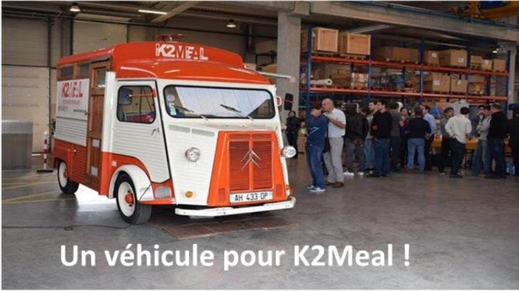Un véhicule pour K2MEAL : Le Food Truck Alpin