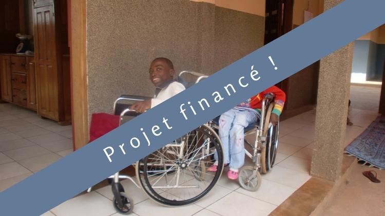 Mes nouvelles jambes : Des orthèses pour des petits Camerounais
