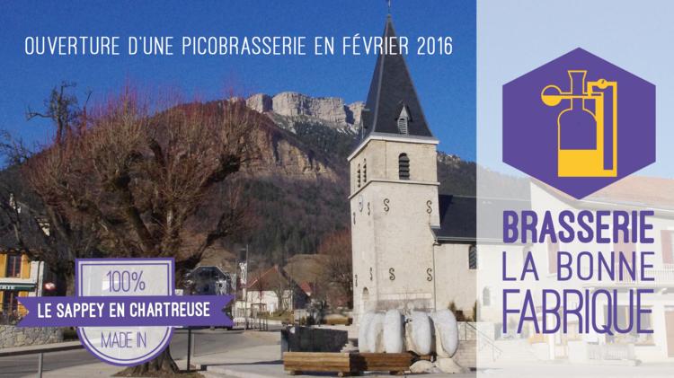 Brasserie La Bonne Fabrique : Ouverture d'une brasserie au Sappey-en-Chartreuse