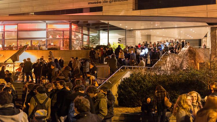 XIIIe Nocturne des Etudiants  : Animer l'esplanade du musée de Grenoble !