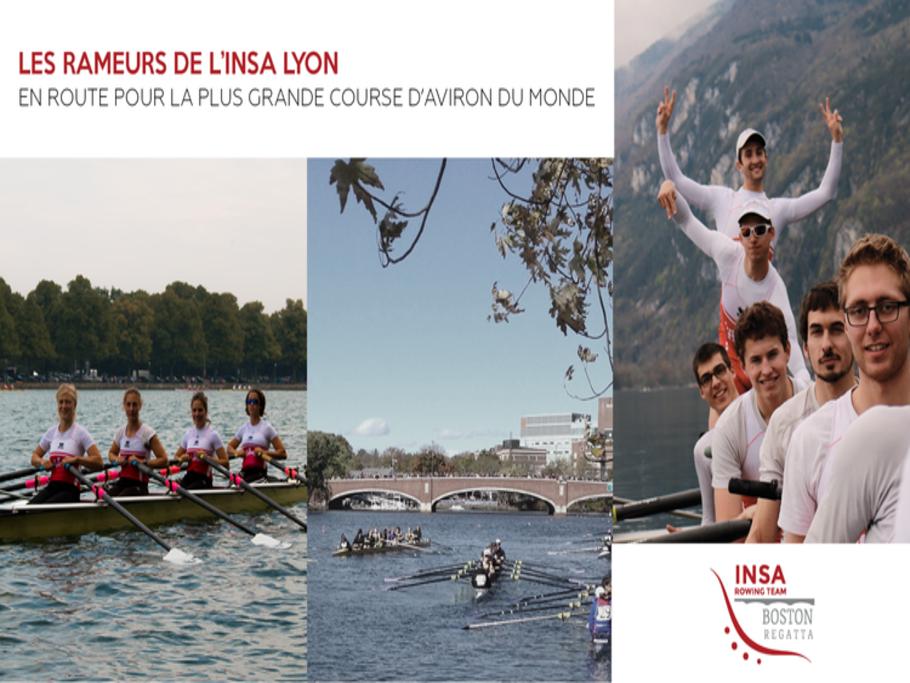 Un défi, un rêve : Boston ! : INSA Rowing Team : Boston Project