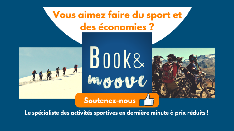 bookandmoove.com : Le lastminute.com des activités sportives !