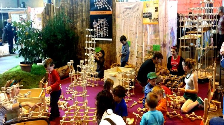 KOOBI :  Un jeux de construction en bois pour tous