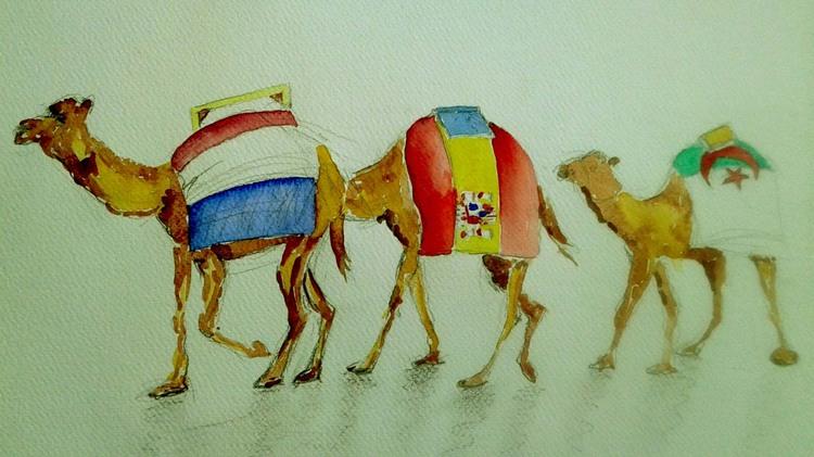 Caravane d'expos Franco-Algérienne : Autour des oeuvres de trois artistes