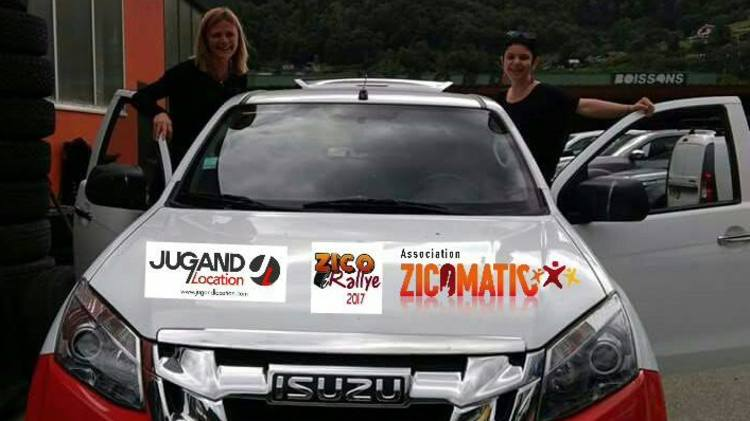 Association Zicorallye : Pascale et Céline, Rallye Aicha des Gazelles 2017
