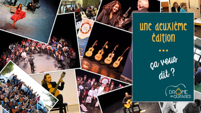 2nd édition festival Drôme de Guitares : Festival international de guitare