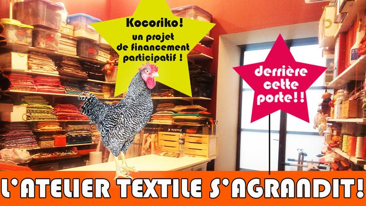 Je peux pas... J'AI COUTURE!! : Un atelier couture ... + bô! + grand!