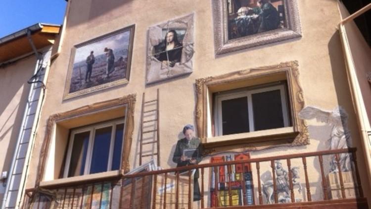 """Extension fresque murale ROSE VALLAND : Connaissez-vous les oeuvres """"ROSE VALLAND-M.N.R""""?"""